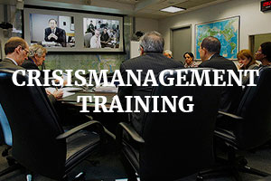 Crisismanagement training